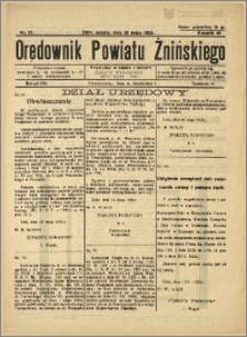 Orędownik Powiatu Żnińskiego 1935 Nr 13