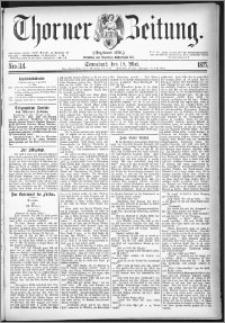 Thorner Zeitung 1877, Nro. 114
