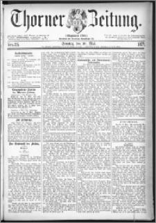Thorner Zeitung 1877, Nro. 115 + Beilage