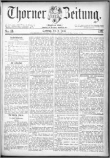 Thorner Zeitung 1877, Nro. 126 + Beilage