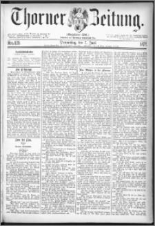 Thorner Zeitung 1877, Nro. 129
