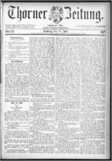 Thorner Zeitung 1877, Nro. 132 + Beilage