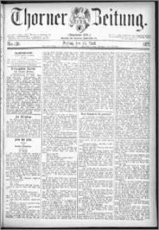Thorner Zeitung 1877, Nro. 136