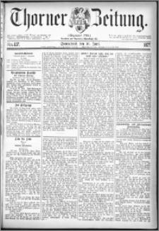 Thorner Zeitung 1877, Nro. 137