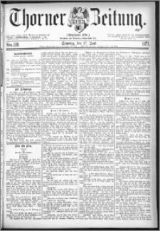Thorner Zeitung 1877, Nro. 138 + Beilage