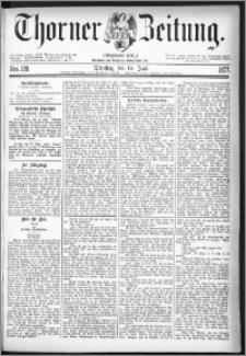 Thorner Zeitung 1877, Nro. 139