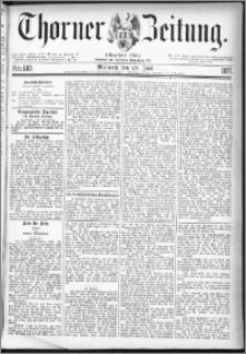 Thorner Zeitung 1877, Nro. 140