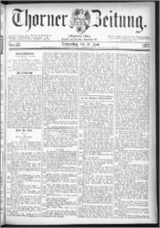 Thorner Zeitung 1877, Nro. 141