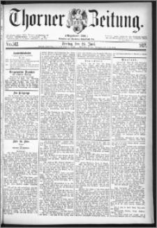 Thorner Zeitung 1877, Nro. 142