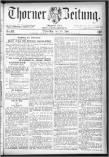 Thorner Zeitung 1877, Nro. 147