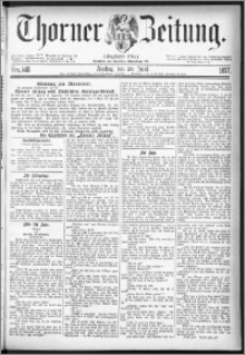 Thorner Zeitung 1877, Nro. 148