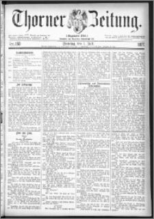 Thorner Zeitung 1877, Nro. 150 + Beilage