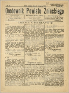 Orędownik Powiatu Żnińskiego 1935 Nr 21