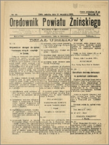 Orędownik Powiatu Żnińskiego 1935 Nr 23