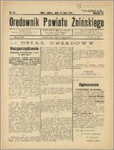 Orędownik Powiatu Żnińskiego 1937 Nr 21