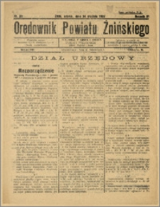 Orędownik Powiatu Żnińskiego 1937 Nr 33