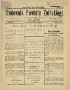 Orędownik Powiatu Żnińskiego 1938 Nr 1