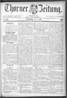 Thorner Zeitung 1877, Nro. 153