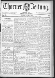 Thorner Zeitung 1877, Nro. 157