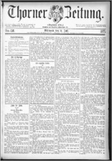 Thorner Zeitung 1877, Nro. 158