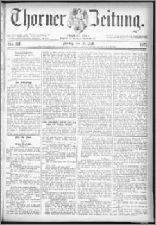 Thorner Zeitung 1877, Nro. 160