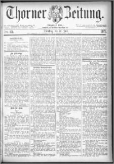 Thorner Zeitung 1877, Nro. 163
