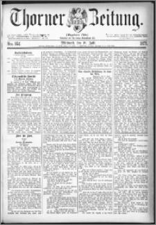 Thorner Zeitung 1877, Nro. 164