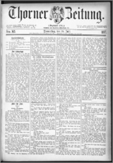 Thorner Zeitung 1877, Nro. 165