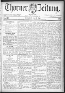 Thorner Zeitung 1877, Nro. 167