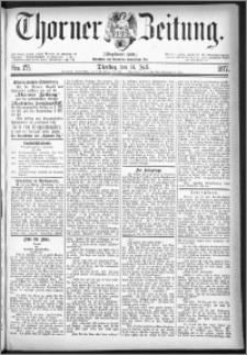 Thorner Zeitung 1877, Nro. 175