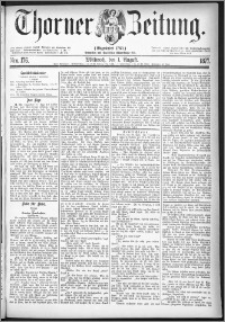 Thorner Zeitung 1877, Nro. 176