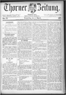Thorner Zeitung 1877, Nro. 177