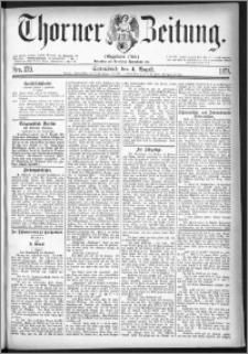 Thorner Zeitung 1877, Nro. 179