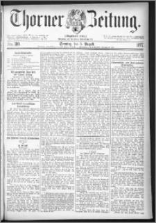 Thorner Zeitung 1877, Nro. 180