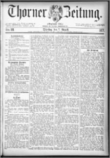 Thorner Zeitung 1877, Nro. 181