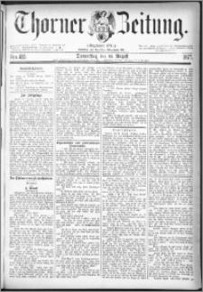 Thorner Zeitung 1877, Nro. 189