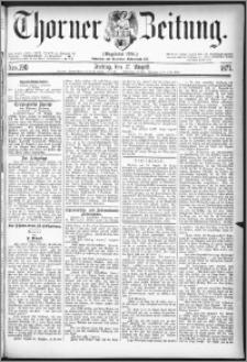 Thorner Zeitung 1877, Nro. 190