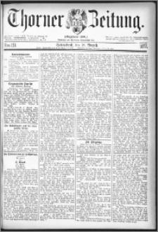Thorner Zeitung 1877, Nro. 191
