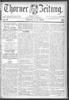 Thorner Zeitung 1877, Nro. 197