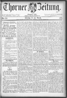 Thorner Zeitung 1877, Nro. 198