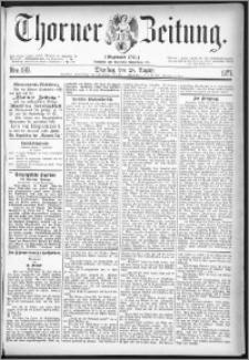 Thorner Zeitung 1877, Nro. 199