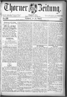 Thorner Zeitung 1877, Nro. 200
