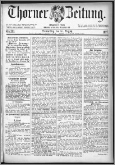 Thorner Zeitung 1877, Nro. 201