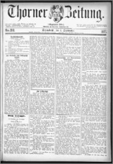 Thorner Zeitung 1877, Nro. 203