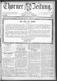 Thorner Zeitung 1877, Nro. 204