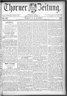 Thorner Zeitung 1877, Nro. 206