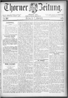 Thorner Zeitung 1877, Nro. 208