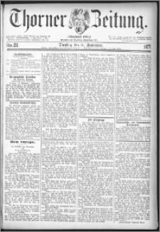 Thorner Zeitung 1877, Nro. 211