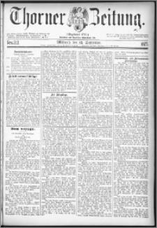 Thorner Zeitung 1877, Nro. 212