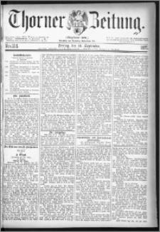 Thorner Zeitung 1877, Nro. 214
